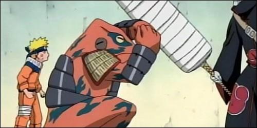 Gamatabi protège Naruto de :