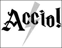 Accio est un sortilège, mais à quoi sert-il ?