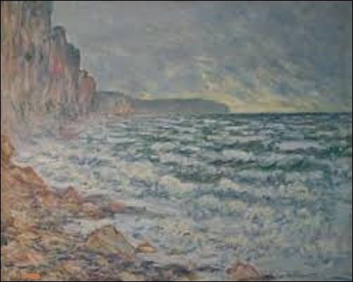 Actuellement conservé au musée d'art moderne André Malraux (MuMa), ''Fécamp, bord de mer'' est un tableau réalisé en 1881 par un peintre impressionniste. Des trois cités ci-dessous, lequel a réalisé cette oeuvre ?