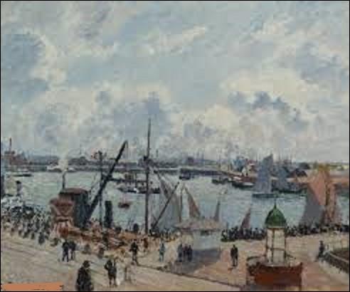 Datant, d'après mes informations, de 1934, ''Avant-port du Havre. L'anse des pilotes'' est l'œuvre d'un peintre post-impressionniste. De ces trois peintres, lequel a réalisé ce tableau ?