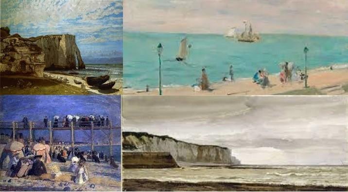 La Côte d'Albâtre en peinture