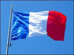 F : Que représentent les couleurs bleu et rouge sur le drapeau de la France ?