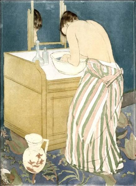 """Cette œuvre de Mary Cassatt n'aurait-elle pu être l'affiche de l'exposition """"..."""" au musée des impressionnismes de Giverny ?"""