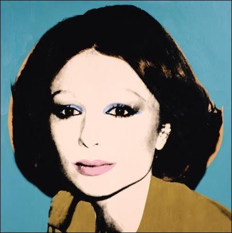 Observez bien cette illustration ! Grâce à cette oeuvre de Andy Warhol, vous regarderez une série TV, laquelle...