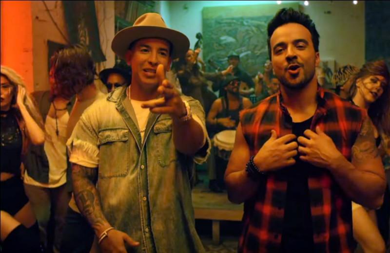 """""""Despacito"""" par Luis Fonsi et Daddy Yankee est la vidéo la plus regardé sur YouTube en 2017."""