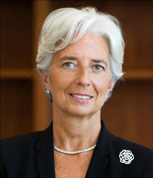 Quelle Française dirige le FMI en 2018 ?