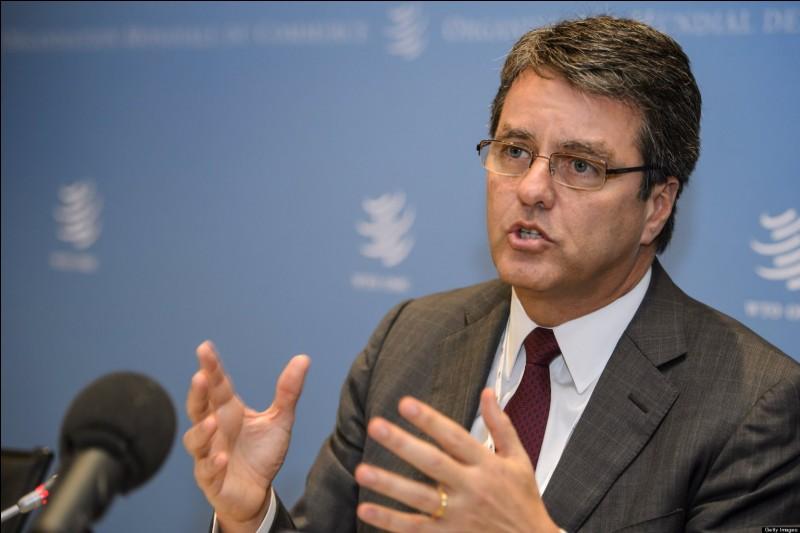 Qui dirige l'OMC en 2018 ?
