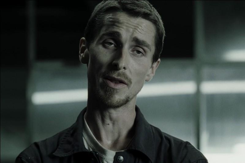 """Christian Bale a perdu 19 kilos pour incarner Trevor Reznik dans le film """"The Machinist""""."""