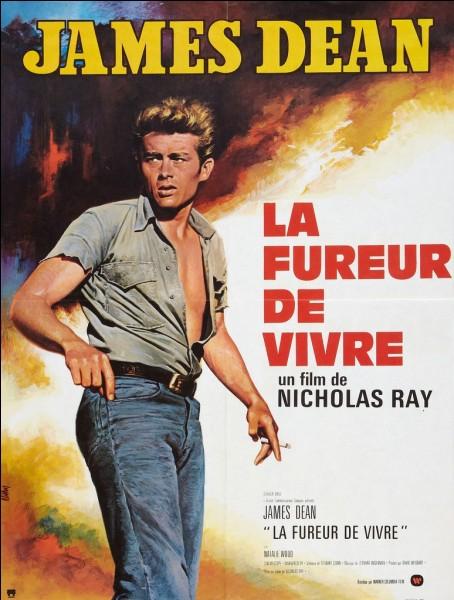 """Le film """"La Fureur de vivre"""" est traduit par """"Rebel Without a Cause"""" en anglais."""