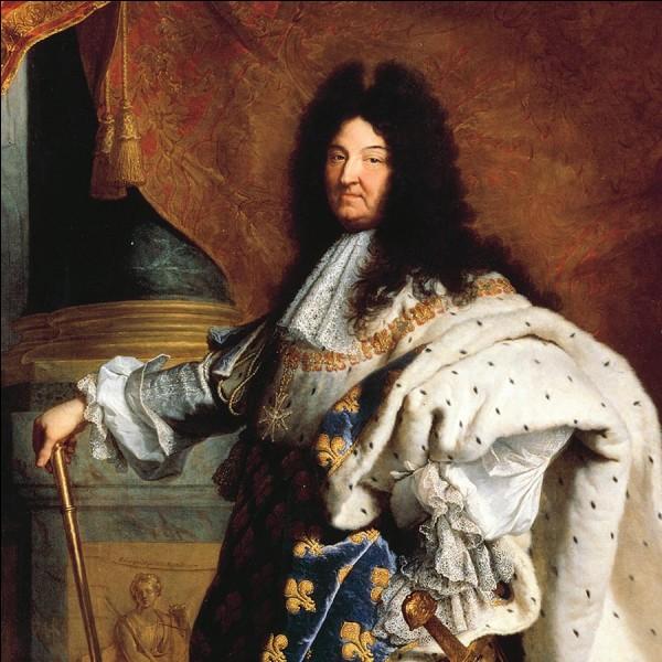 En quelle année Louis XIV est-il mort ?