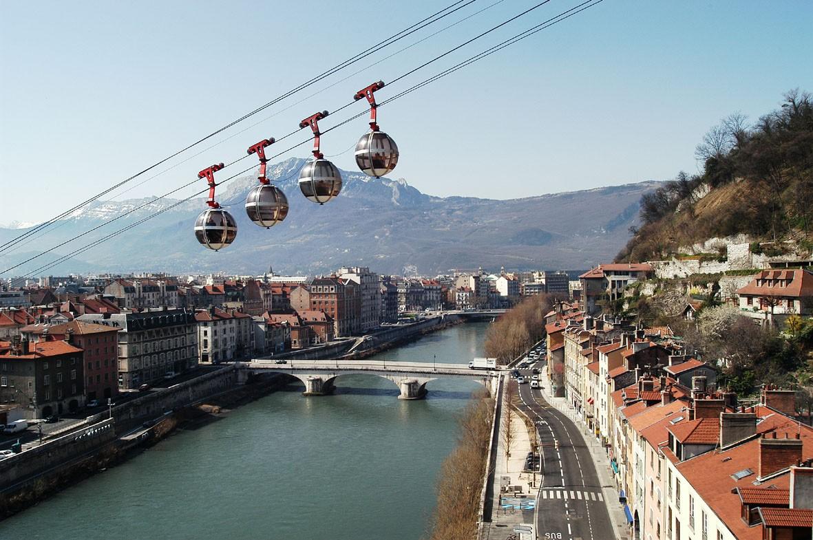 La ville de Grenoble