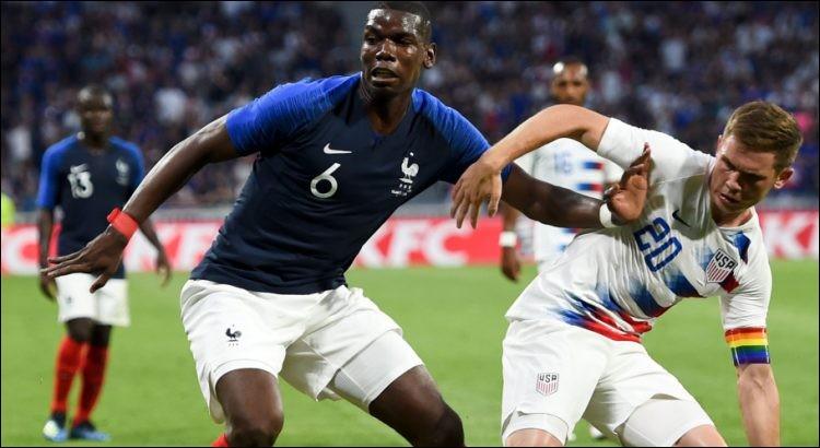 Enfin, pour bien se préparer à la compétition à venir, différentes équipes s'affrontent lors de matches amicaux. Quel a été le score de France - USA le 9 juin ?