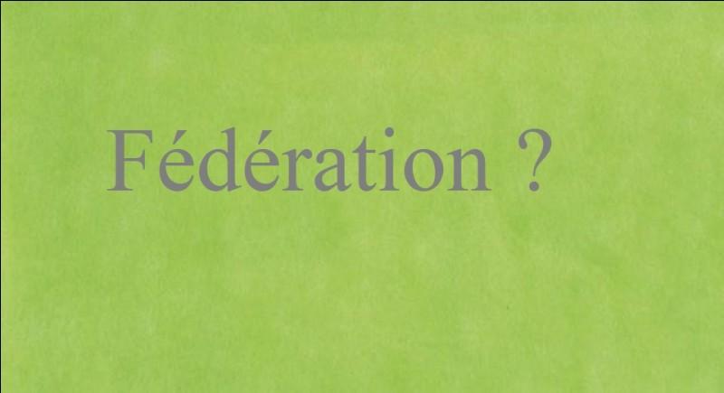 Quelle fédération internationale organise cet évènement ?