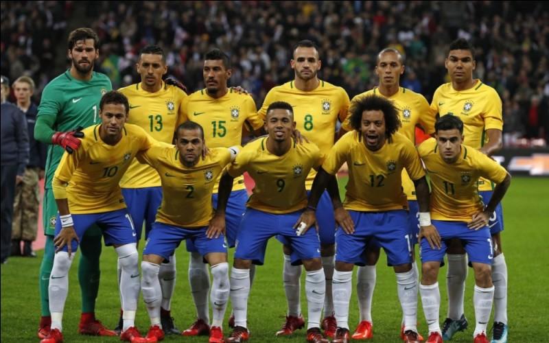 Quelle est la particularité de l'équipe du Brésil, pour cette édition ?
