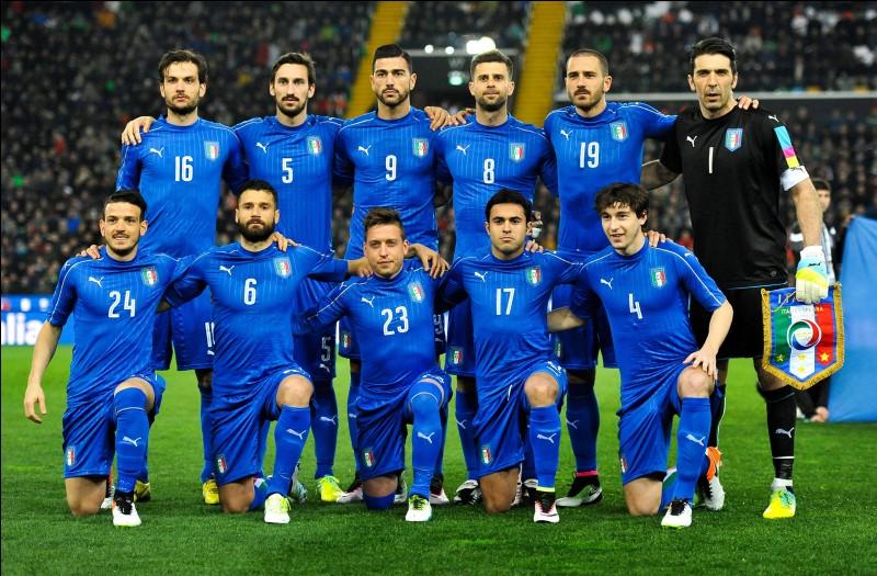 L'Italie est évidemment qualifiée.
