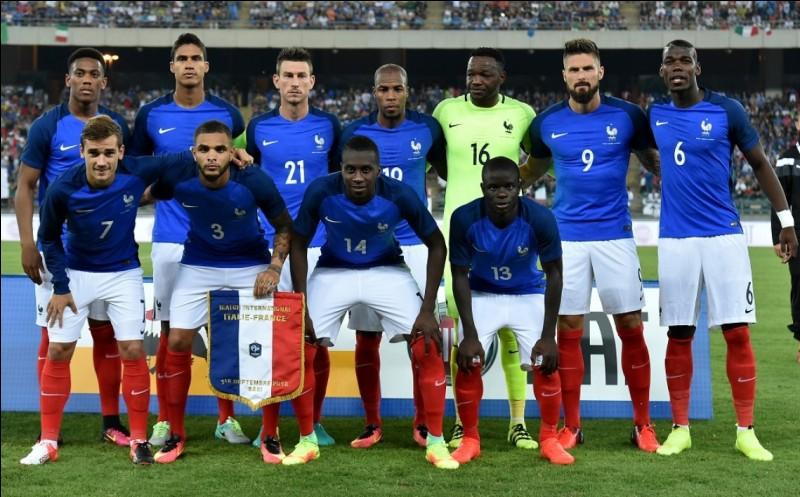 Le premier match de la France sera le...