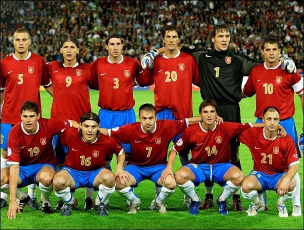 La Serbie est qualifiée, elle est même dans le groupe E.