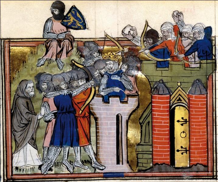 Date la première croisade.