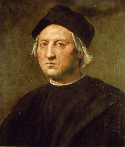 En quelle année Christophe Colomb effectue-t-il son premier voyage autour du monde ?