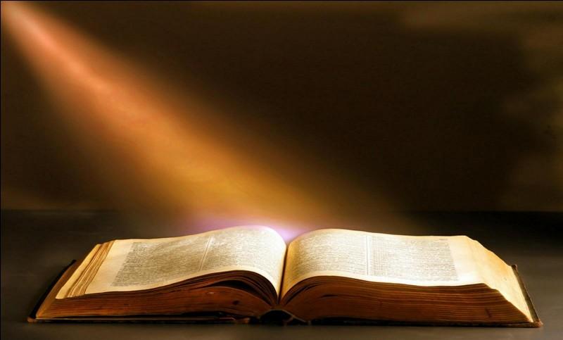 Quel livre sacré a été écrit au VIIIe siècle avant JC ?