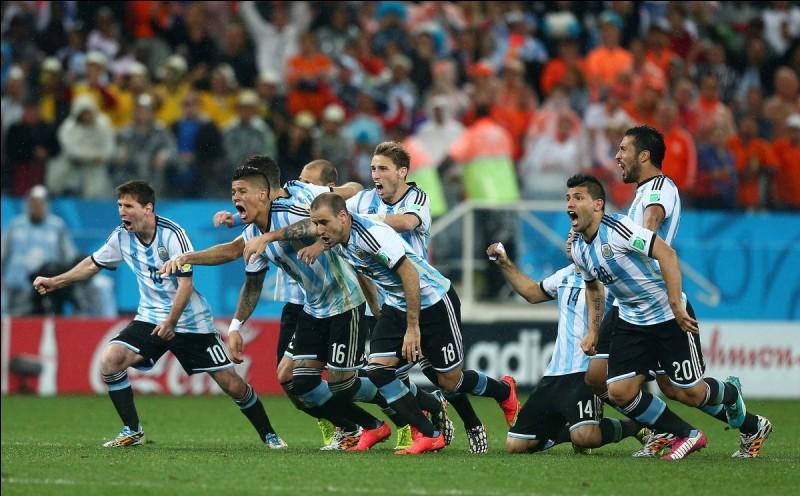 Dans quel groupe l'Argentine est-elle ?