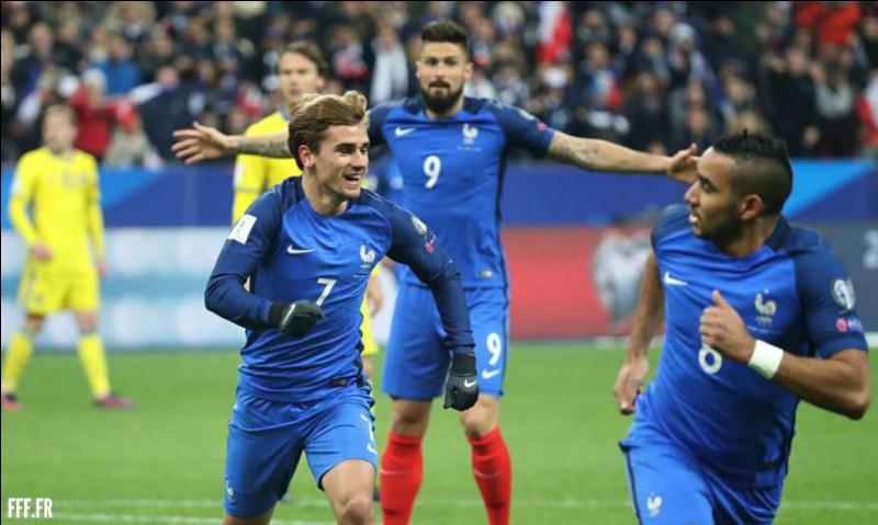 Quel pays n'est pas dans le groupe de la France ?