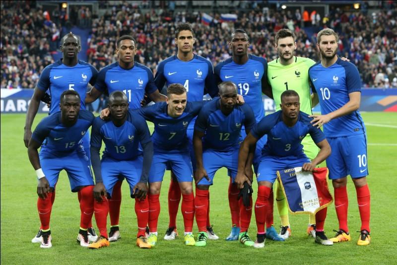 Combien la France est-elle au classement FIFA ? (10/06/2018)