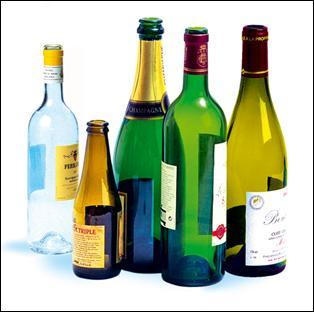 Ces bouteilles (on ne s'occupe pas des bouchons) ?