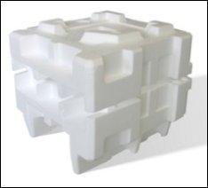 Un emballage en polystyréne ?