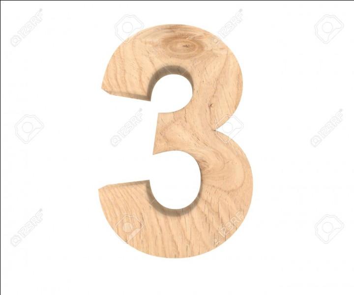 Combien font 3 et 3 ?