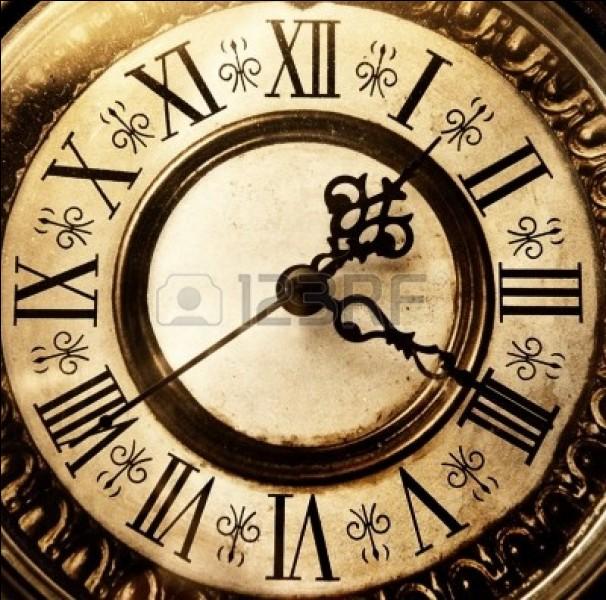 Quelle heure est-il quand une horloge sonne 13 coups ?