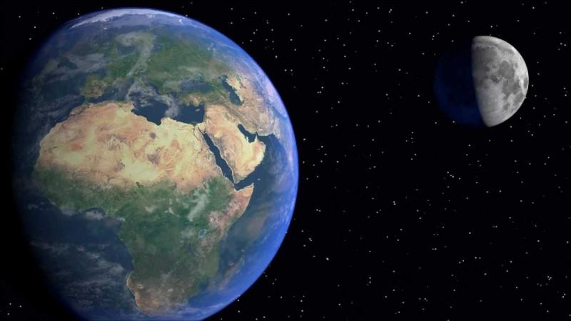 Combien de satellites naturels gravitent autour de la Terre ?