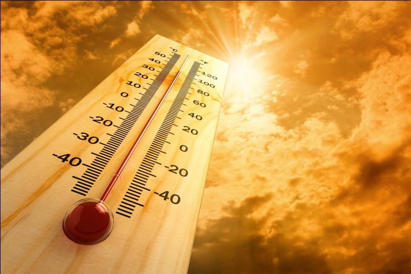 Quelle est la température moyenne sur Terre en 2017 ?