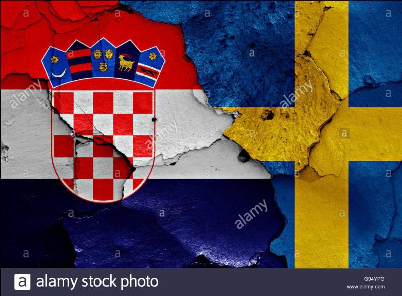 Quelles sont les chance que la Suède affronte la Croatie au premier tour ?