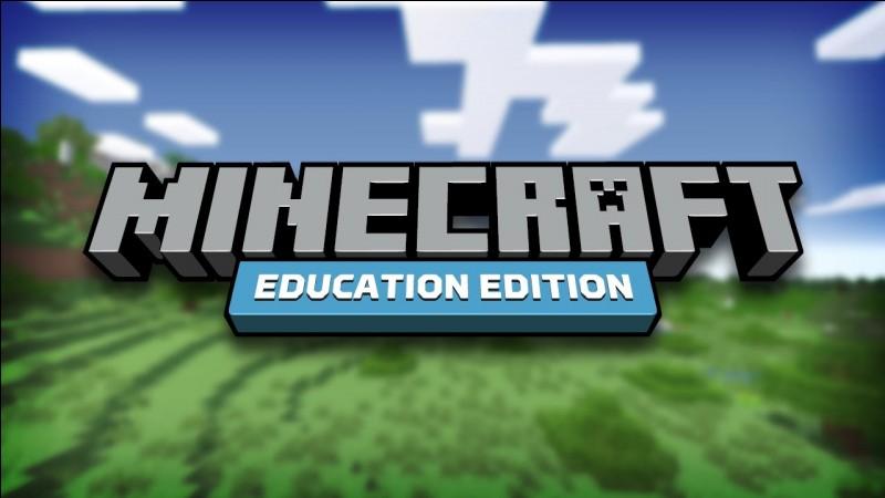 """Un youtubeur a fait récemment une vidéo sur le mode """"Education Edition"""". Comment s'appelle ce youtubeur ?"""