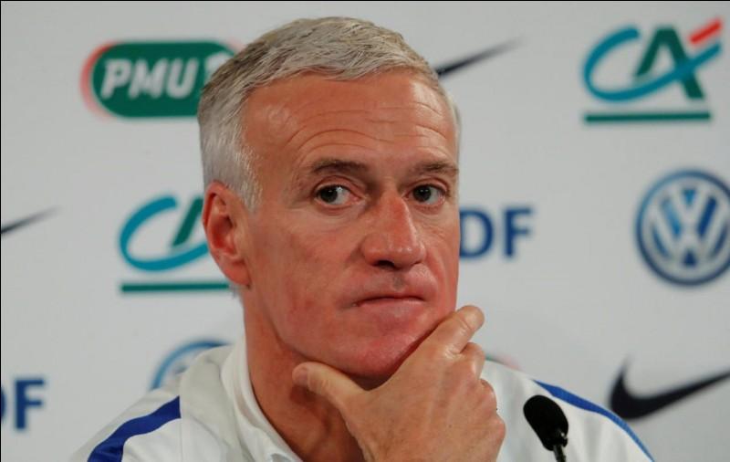 Quel âge a Didier Deschamps, le sélectionneur ?