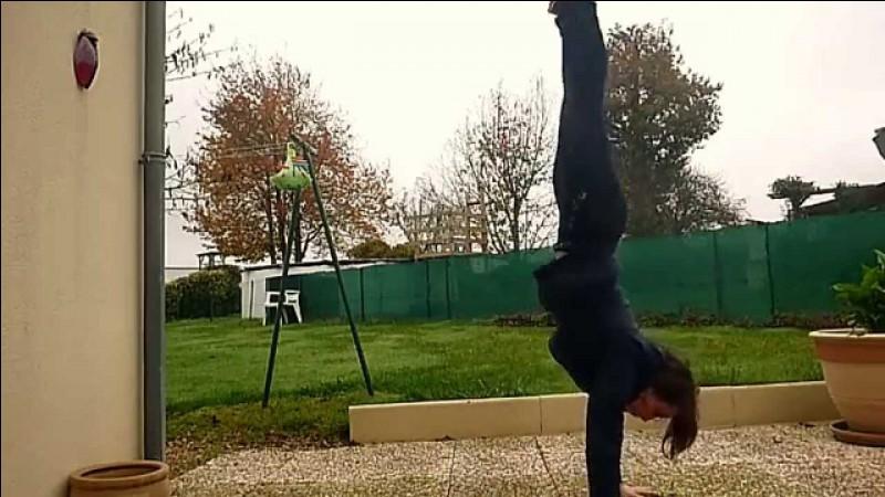 Comment appelle-t-on un poirier en gymnastique ?