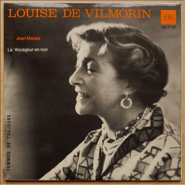 LouiseB29 | Lequel de ces livres a été écrit par Louise de Vilmorin ?