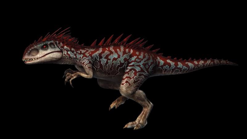 Comment se nomme le dinosaure qui sème la terreur dans le parc après s'être échappé ?