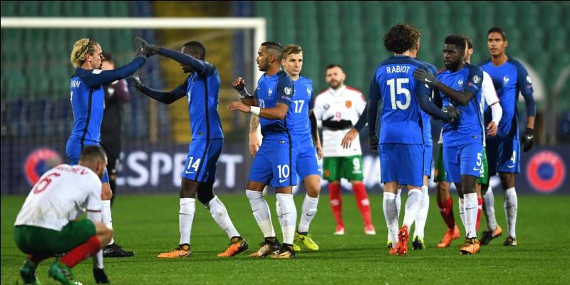 Combien y a-t-il de joueurs dans l'équipe de France ?