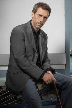 Depuis 2004, Hugh Laurie joue dans quelle série ?