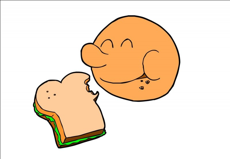 Traduis ''manger'' en anglais.