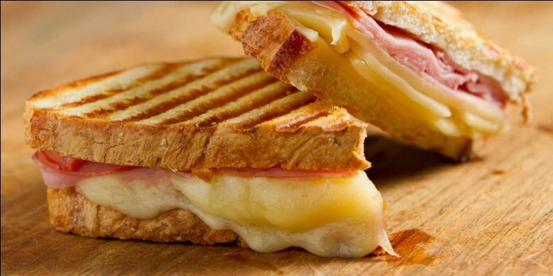 """Quelle est l'origine du nom du """"croque-monsieur"""", ce sandwich à base de pain de mie, apparu à Paris en 1910 ?"""