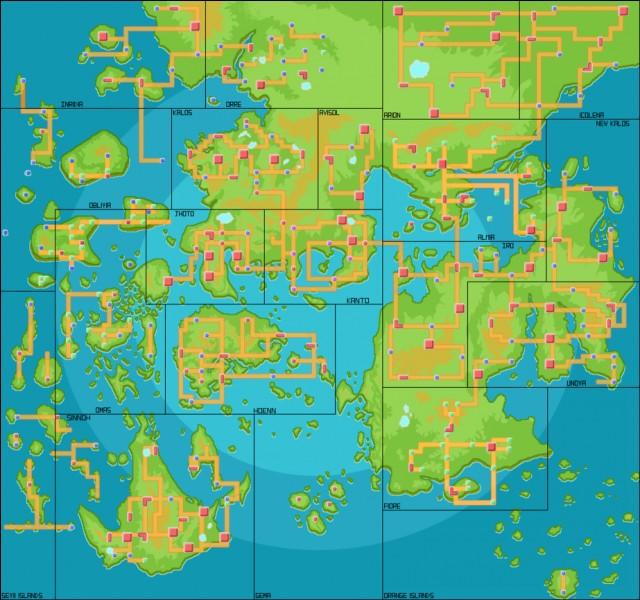 Quelle est ta région de Pokémon préférée ?