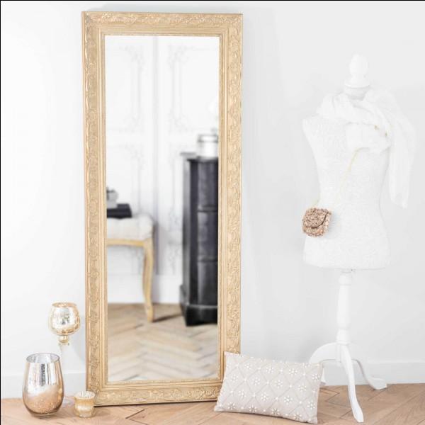 Aimes-tu te regarder dans le miroir ?