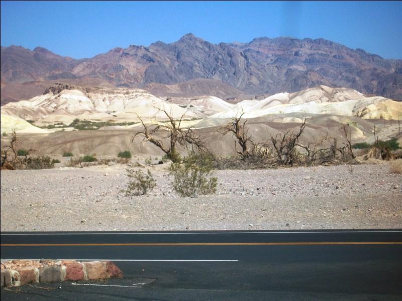 Quelle chaleur insoutenable, nous voilà dans la Vallée de la Mort.