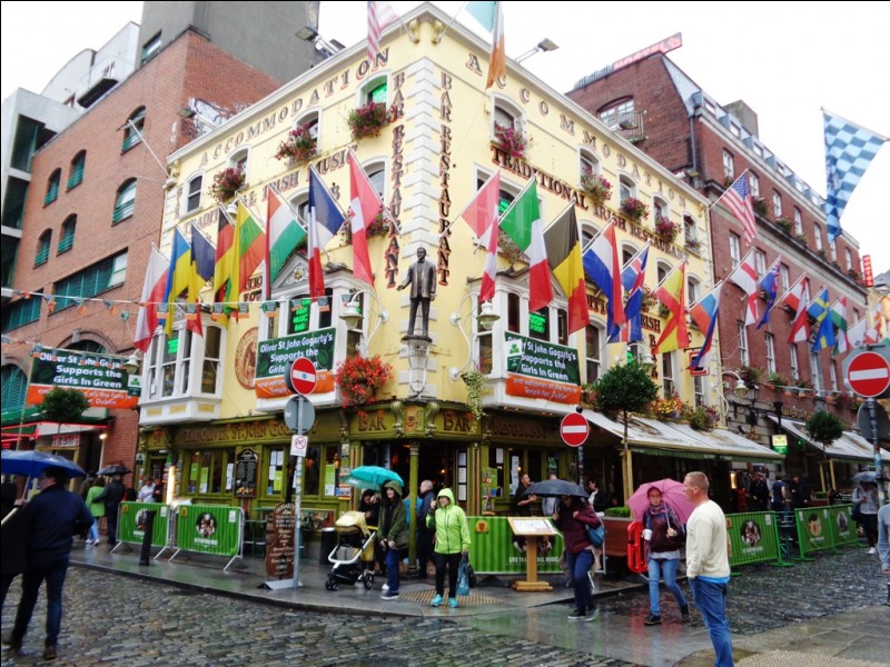 Venez avec moi prendre un verre dans un pub de Dublin.