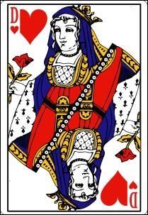 Dans un jeu de cartes français, quel est le nom de la dame de cœur ?