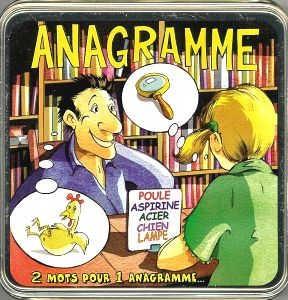 Des anagrammes