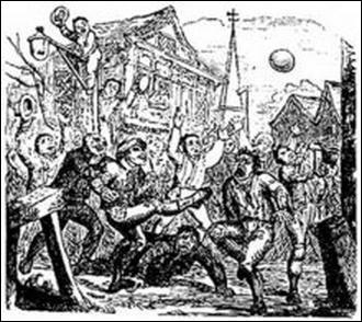 Quel jeu de ballon les Français ont-ils inventé au Moyen Âge ?